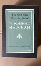 THE COMPLETE SHORT STORIES OF W. SOMERSET MAUGHAM 2 Vol Box Set Doubleday