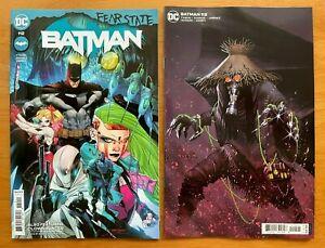 BATMAN #112 2021 Main Cover + Jorge Molina Card Stock Variant DC NM