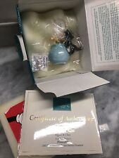 Disney WDCC Pinocchio Ornament Figaro & Cleo PURRFECT KISS Mint in Box with COA