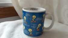 Tweety Bird Coffee Mug Cup Warner Bros. Studio Store 1994