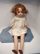 "Antique Composition Doll 26""Long"