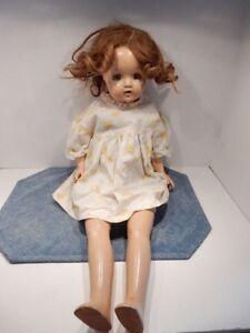 "Antique Composition Doll 26""Long"