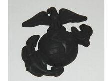 USMC Insignia Badge Screw Visor Hat Marine Corps Army Navy Marines Vietnam WKII