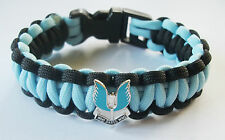 SAS PARACORD WRISTBAND WITH BADGES