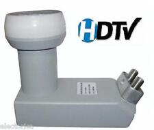 DUAL DSS SQUARE LNB DISH NETWORK BELL DIRECTV FTA DTV CIRCULAR SATELLITE LNBF