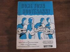 Home Town Hootenanny Gerald Sears Solo or Trios Music