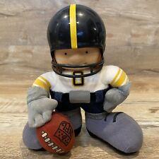 "Vintage 1983 Tudor NFL Huddles Pittsburgh Steelers 7"" Football Mascot Doll RARE"