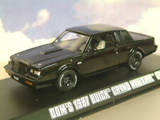 GREENLIGHT DIECAST 1/43 DOM'S 1987 BUICK GRAND NATIONAL GNX FAST & FURIOUS 86231