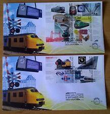 "FDC E 701 A+B Nederland ""175 jaar Spoorwegen"" 2014"