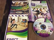 Kinect Sports  (Xbox 360, 2010) Used Free US Shipping