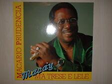 Macario Prudencia (Macay) – M'a Trese E Lele  LP Vinyl   Dureco Benel – 55,098