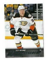 2015-16 UPPER DECK #496 NICK RITCHIE YG RC UD YOUNG GUNS ROOKIE