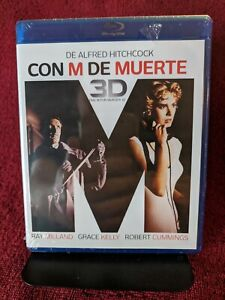 (Blu-ray) CON M DE MUERTE (3D & 2D) Dial M For Murder - Alfred Hitchcock