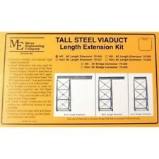 Micro Engineering 75525 - Tall Steel Viaduct 60ft length Extension - HO Scale