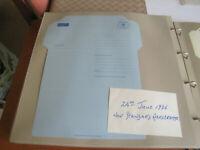 Royal Mail un used Aerogramme Envelope