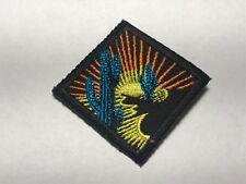 Cactus Desert Scene Sunset Rays Diamond Black Embroidered Western Orange Patch A