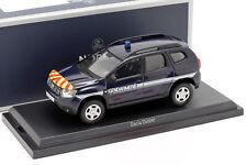 Dacia Duster Gendarmerie Baujahr 2018 dunkelblau 1:43 Norev