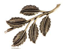 Vintage Estilo De Hoja De Oro Clip Pin de Pelo Diadema elegante joyería regalo decoración de fiesta nuevo