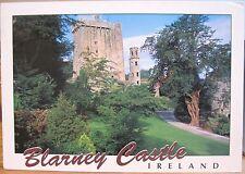 Irish Postcard BLARNEY CASTLE Cork Ireland White Frame John Hinde 2/2582 1995