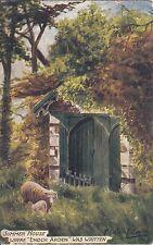 CC73.Vintage Postcard. Summer House where Tennyson's Enoch Arden was written.IOW