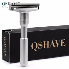 QSHAVE Adjustable Safety Razor Double Edge Classic Mens Shaving Mild to Aggressi