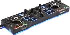 Hercules DJControl Starlight Pocket USB DJ Controller Serato DJ Lite Jog Wheels