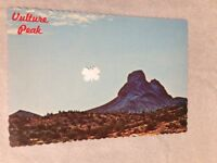 Vintage Postcard Photo of Vulture Peak Wickenburg AZ Deckled Edged Petley Publ