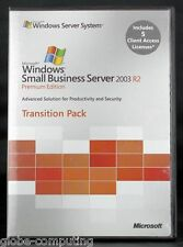 Microsoft Windows Small Business Server SBS 2003 R2 Premium Transition Pack