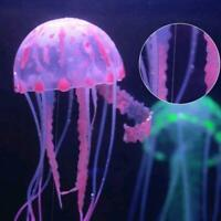 Schwimmende Quallen Glowing Effect Aquarium Tank Ornament Fisch Dekoration M9E4