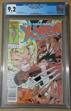 X-men 213 CGC 9.2  WHITE PAGES