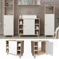 VICCO 60 x 54 x 32cm Meuvble de Lavabo - Chêne Sonoma