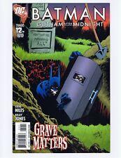 DC Comics, Batman: Gotham After Midnight #12, June 2009 - NM (Unread copy)