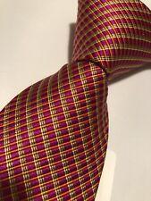NWT$95 IKE BEHAR NEW YORK  Multi Color Woven Silk Tie