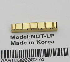 Solid Brass Guitar Nut For LP Style of Gibson,Epiphone,Yamaha,PRS,ESP,Ibanez,etc