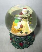 Small Santa Waterglobe Snow Globe resin base