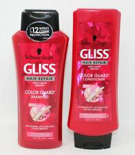 SCHWARZKOPF GLISS COLOR GUARD HAIR REPAIR SHAMPOO/ CONDITIONER SET 13.6 Oz