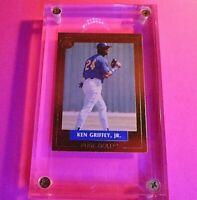 1992 Front Row Baseball, Pure GOLD, #1 Ken Griffey Jr, 23kt.Gold