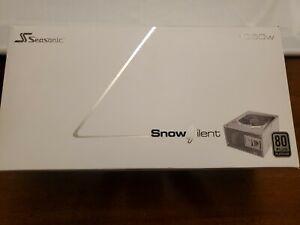 Seasonic Snow Silent 1050w 80 Plus Platinum Power Supply White