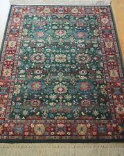 "American Karastan 797 Kuba Wool Carpet Area Rug  4'3"" x 6' Hand Cleaned"