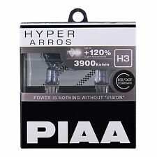 New! HE-909 PIAA HB3 (9005) HYPER ARROS 3900K Uprated Car Bulbs +120% Brighter!