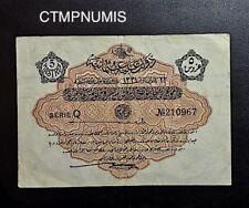TURQUIE TURKEY     5 PIASTRES   1331
