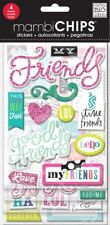 MAMBI Chips 4sheets GD Friends - Chipboard Value Packgood