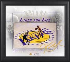 """Kobe Bryant Los Angeles Lakers Enmarcado 15"""" X 17"""" juego final Collage-fanáticos"""