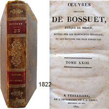 Oeuvres choisies de Bossuet T.23 Lebel 1822 Discours sur l'Histoire universelle