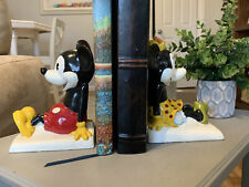 New listing Mickey Mouse and Minnie Mouse Collectable Vintage Bookends from 1960's