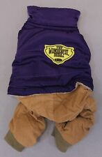Dobaz Limited The Wonderful Dobaz Patch Dog Outfit AN3 Purple Small NWT