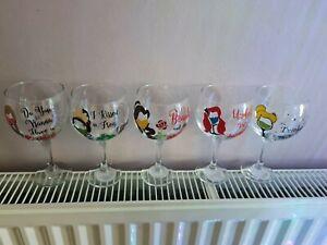 Disney Inspired Gin Glass