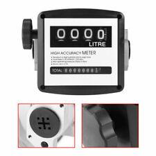 High Accuracy 4 Digital Gallon 1 1 Inch Diesel Gas Fuel Oil Flow Meter Counter