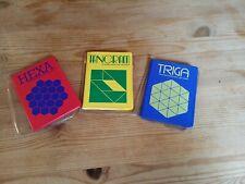 Reisespiele magnetisch Hexa Tangram Triga von Parker