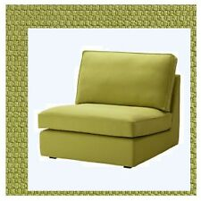 "IKEA Kivik""One-Seat""Chair Sofa Section Cover Dansbo Yellow-Green Pique'NEW& Rare"